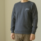 HAND LOGO CREW NECK SWEAT SHIR...