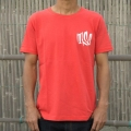 THE SNOWSURF WAVERS TEE -RED-
