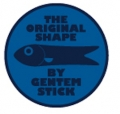 ORIGINAL SHAPE FISH STICKER