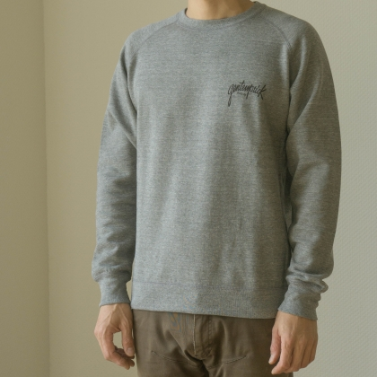 HAND LOGO CREW NECK SWEAT SHIRT