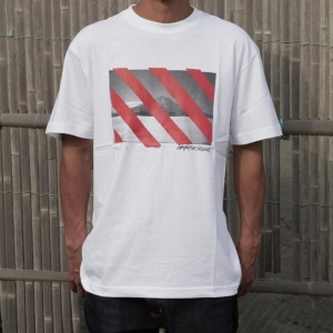 15-16 GENTEM×UH FRIENDS→YOTEI TEE -WHITE x RED-