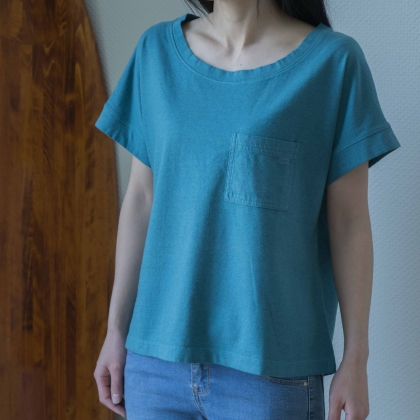 Se. X GENTEMSTICK WOMEN'S FISH POCKET TEE