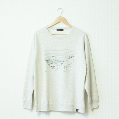 SNOWBOARDING ANIMAL crew neck sweat
