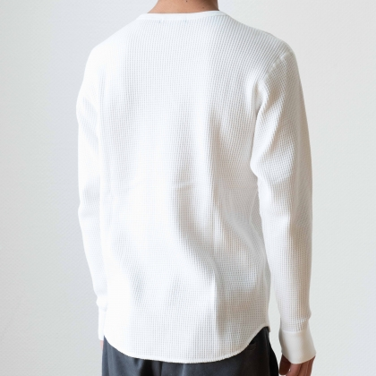 HAND LOGO thermal long sleeve shirt